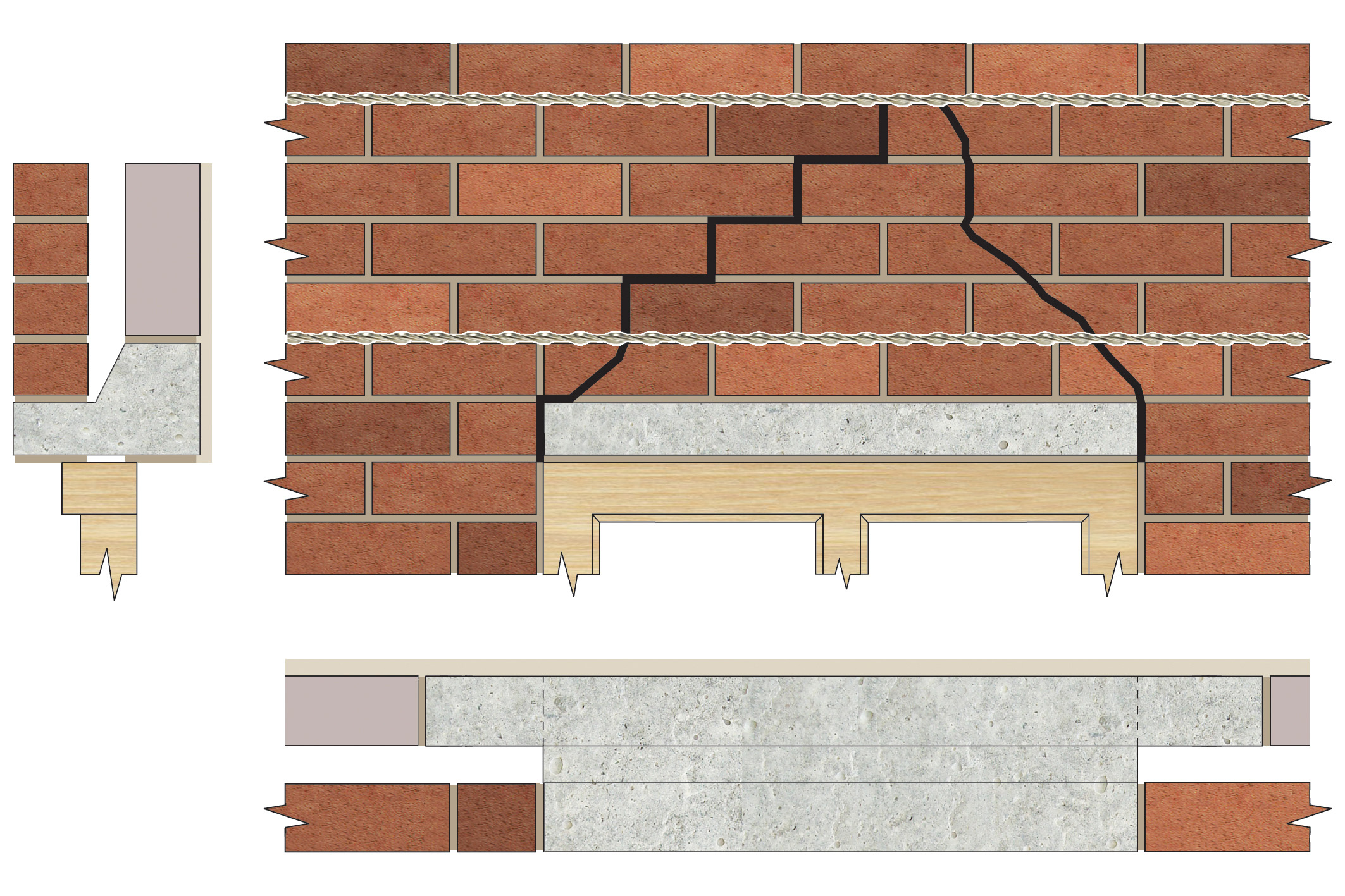 Applications - Lintel security for window replacement
