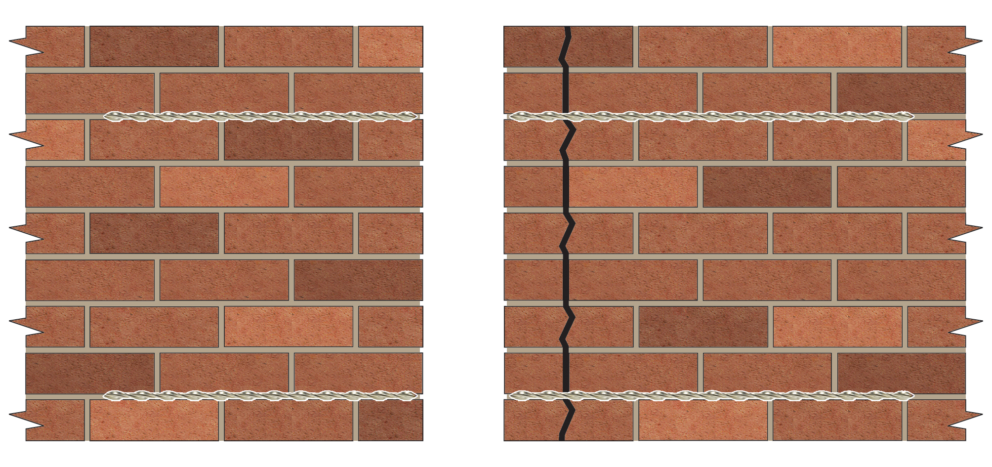 Applications Repairing Cracks Near Corners And Openings