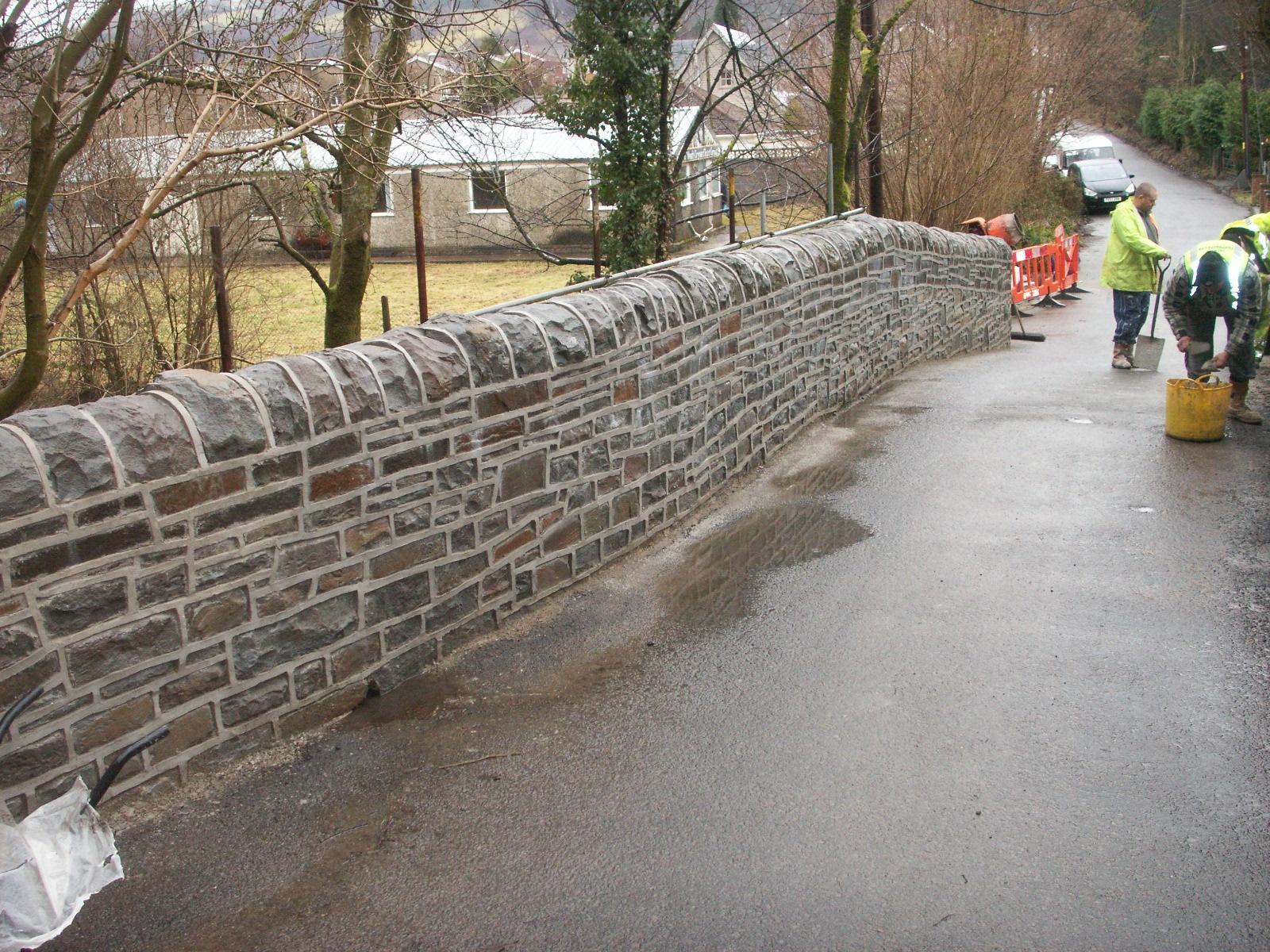 Natural stone bridge repaired   Helifix