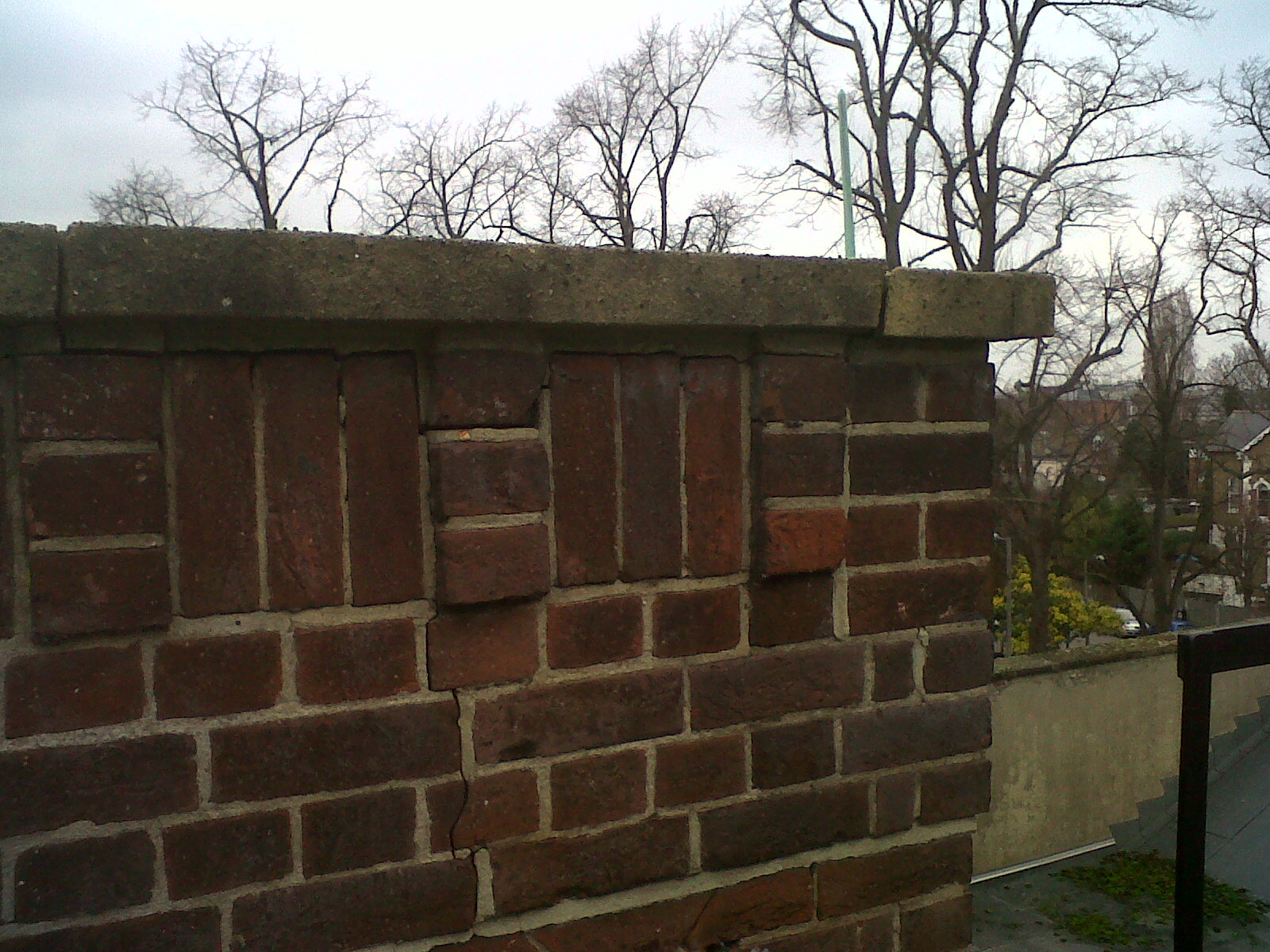 Cracked Unstable Parapet Walls Repaired And Secured Helifix