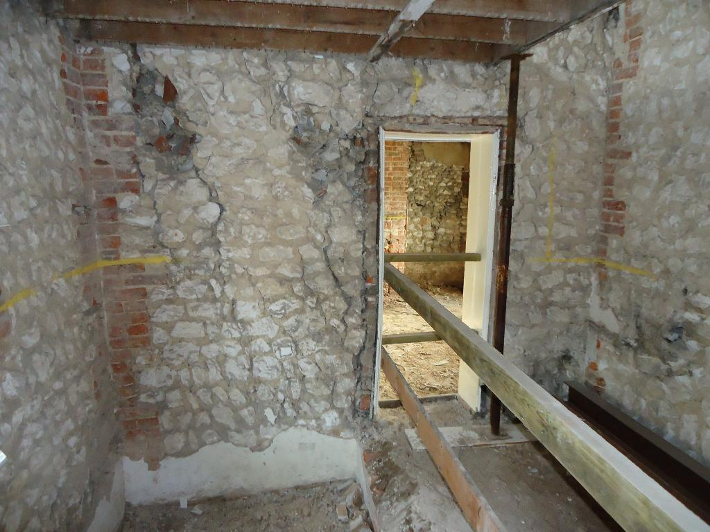 Structural Repair Of Stone Cottage And Barn For Conversion