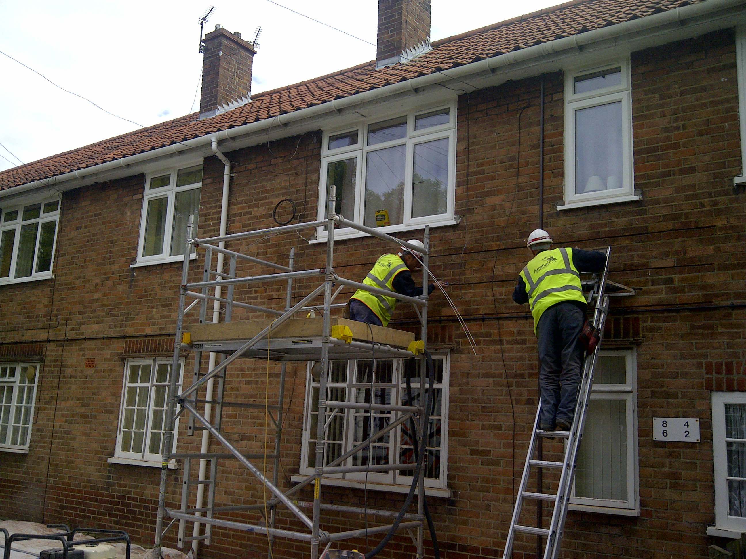 Lintel reinforcement for council home upvc window upgrade for Best new construction windows