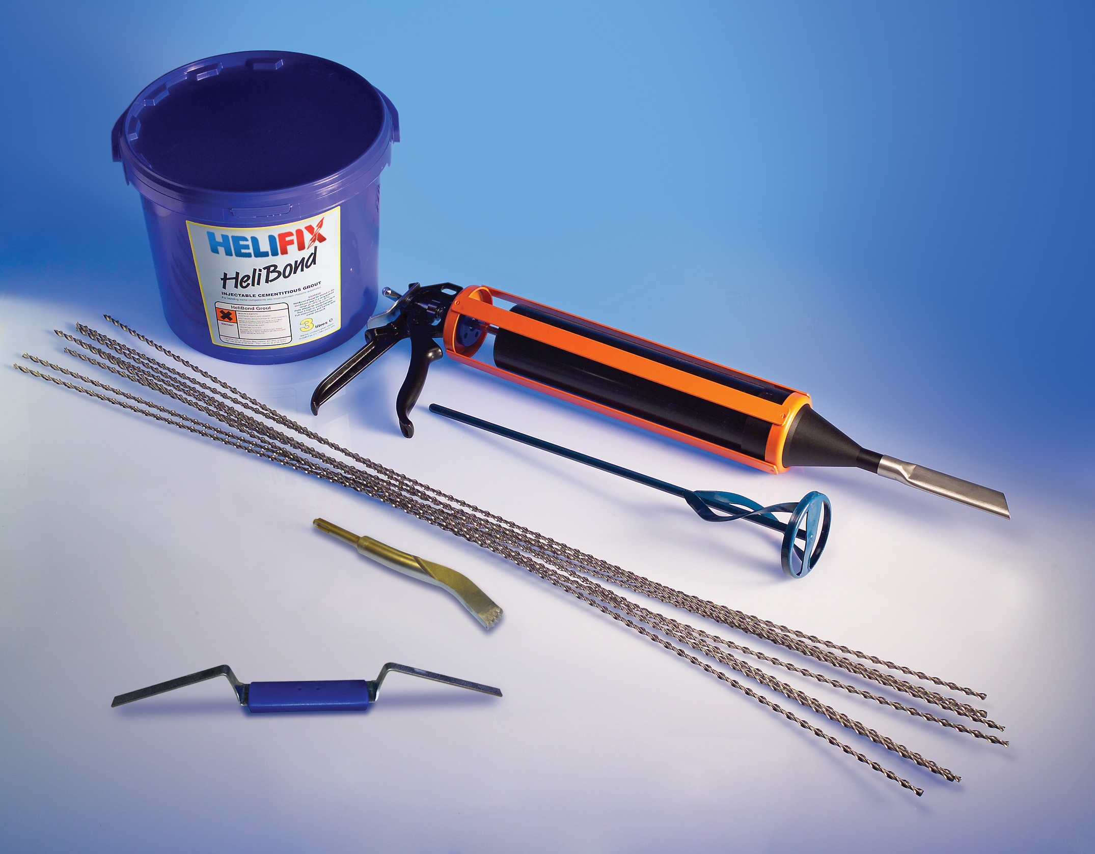 Helifix Crack Repair Stitching Products To Stabilise